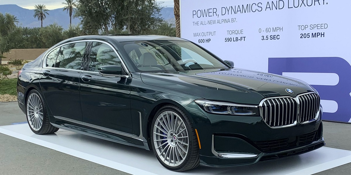 BMW Alpina B7 (2019) po liftingu